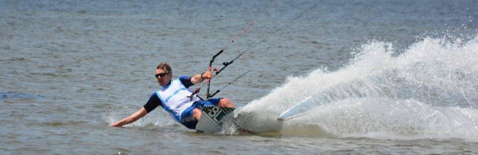 Kitesurf-riding
